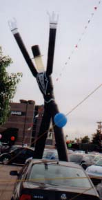 dancing man balloon - tuxedo dancing balloon man